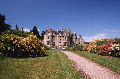 Accommodation in castles of Scotland