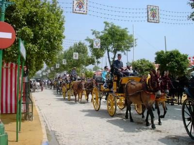 April Fair in Seville