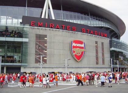Arsenal FC Stadium quotEmirate Stadiumquot