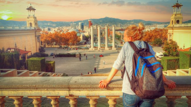 Backpacking tourism in Barcelona