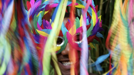 The Brazilian Carnival, a spectacle