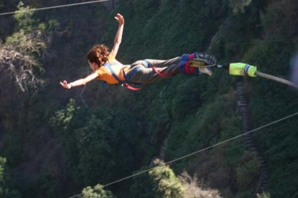 Bungee jumping in Madrid