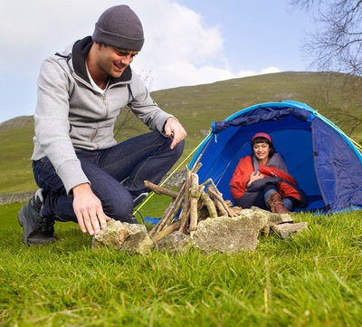 Camping in Donana