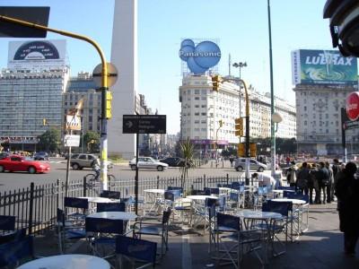 Corrientes Street Buenos Aires