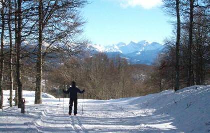 Cross country ski circuits in Navarra