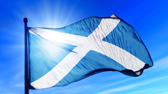 Saint Andrew's Cross or Flag of Scotland