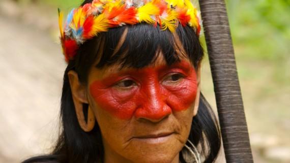 Woman-hunter of the Ecuadorian Amazon