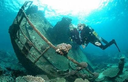 Diving in Denia