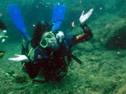 Diving in Granada