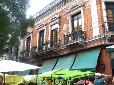 Dorrego Square and San Telmo Buenos Aires