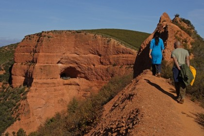 sentiers de randonnée à leon