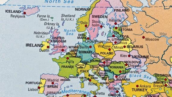 UK location in Europe