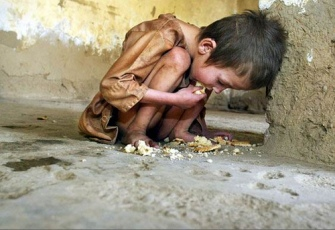 Malnutrition of children