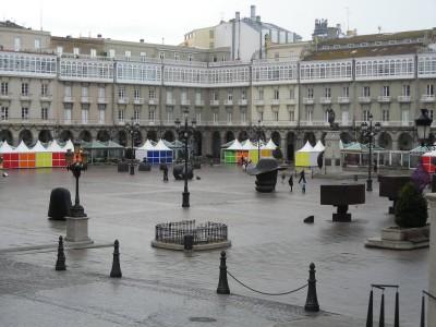 Maria Pita Square A Coruña