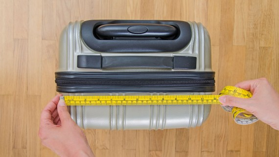 Hand luggage measurements by airline
