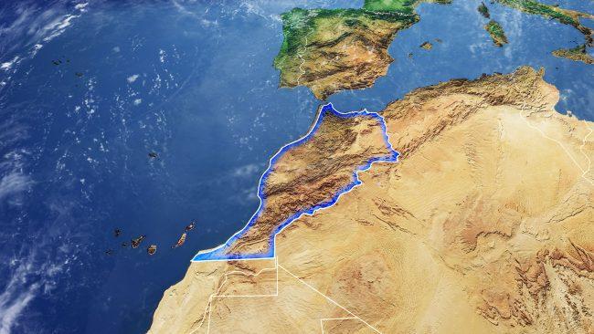 Cartina Fisica Del Marocco.Mappe Del Marocco It Versiontravel Com