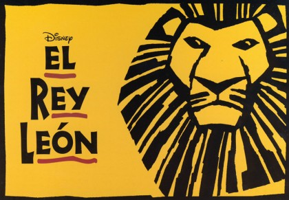 Musical The Lion King in Madrid