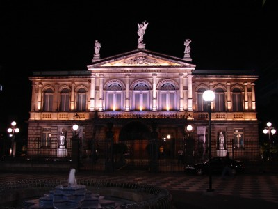 Night view of the National Theater