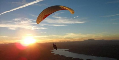 Paragliding in Granada