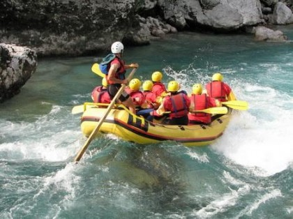 Rafting in Galicia