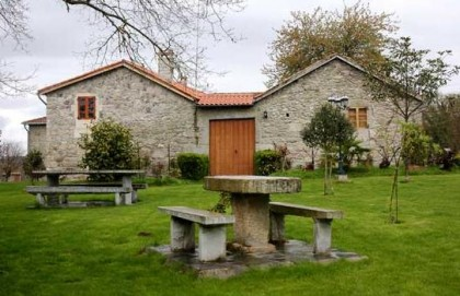 Rural houses in Galicia