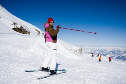 Skiing in Teruel