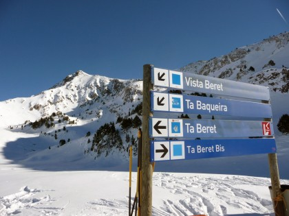 Spain ski slopes