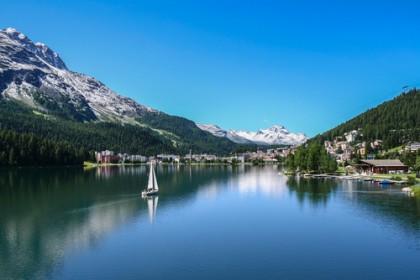 Swiss ski slopes