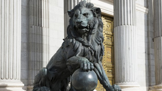 Lions of the Congress of Deputies, Madrid