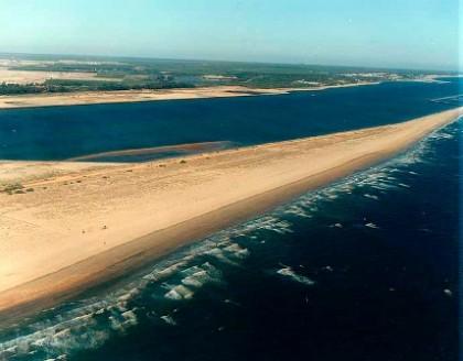 Espigón de Huelva beach