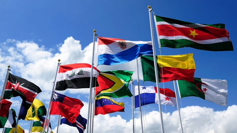 The flags of South America meaning and capital of each