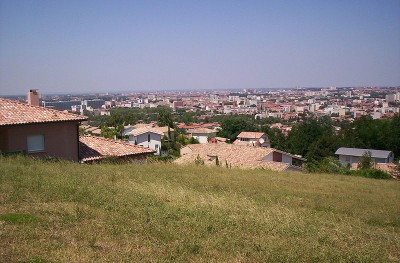 Toulouse panoramic view