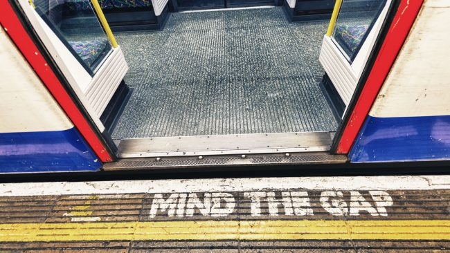 The London Underground and its famous warning
