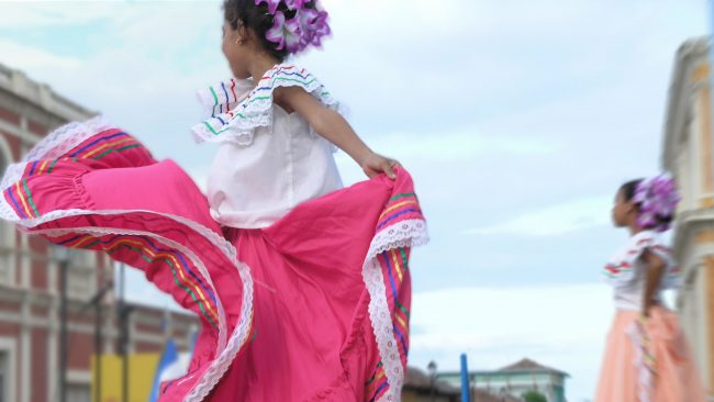 Nicaraguan typical costumes