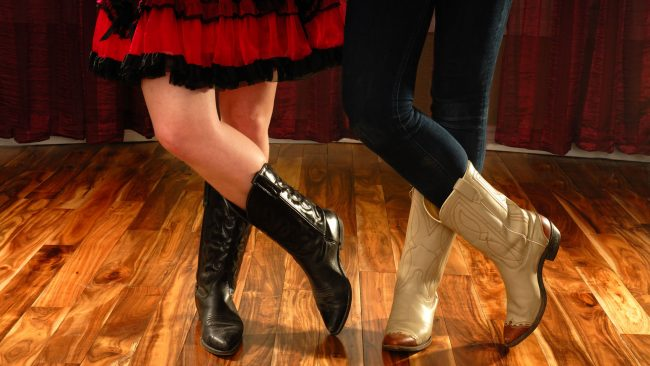 Typical dress of country dancers