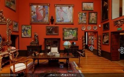 Virtual visit to the Sorolla Museum