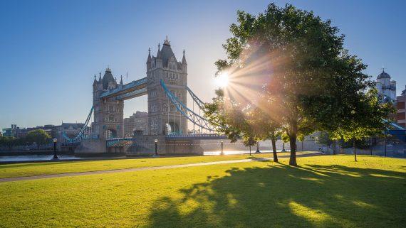 Average London temperature in summer