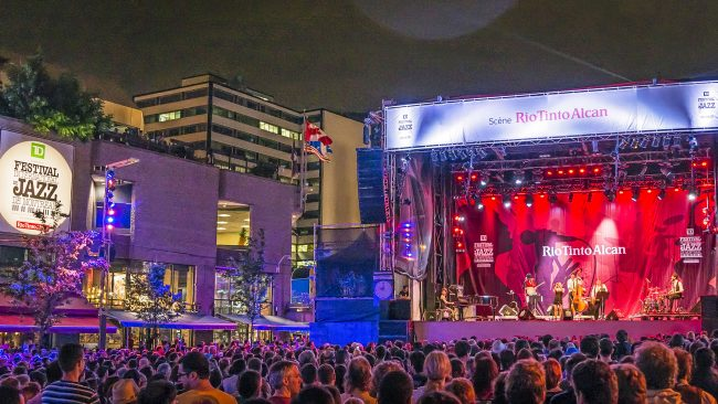 Jazz festival - in Montreal Canada