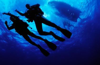 Plonger à Minorque