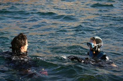 Diving in Almería