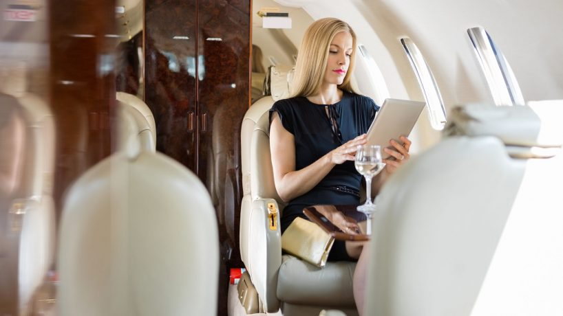 Traveling in business class what do airlines offer their passengers