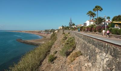 Playa del Inglés promenade