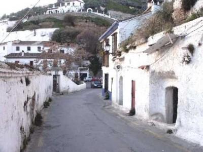 Street of the Sacromonte of Granada