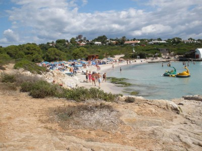 Beach in Binibeca