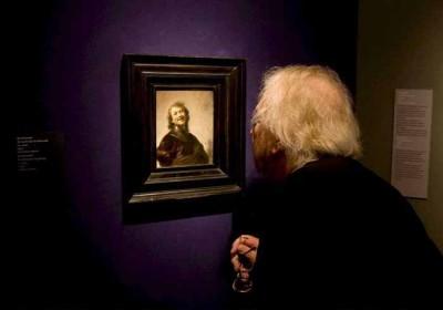 Rembrandt portrait