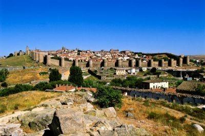 Rural tourism in Ávila casas