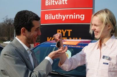 Rent a car in Stockholm