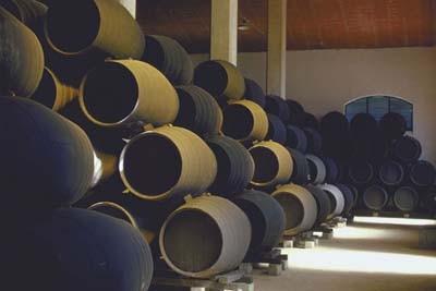 sherry barrels wines