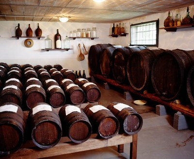 aging wines cellar