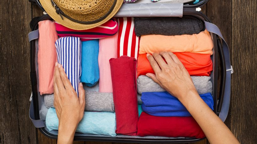 Travelers advice how to pack